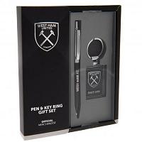 West Ham United FC Pen & Keyring Set