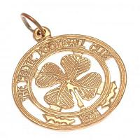 Celtic FC 9ct Gold Pendant Large