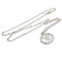 Chelsea FC Pendant & Chain - Silver Plated