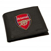 Arsenal FC Leather Wallet - Embroidered Crest