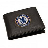 Chelsea FC Leather Wallet - Embroidered Crest