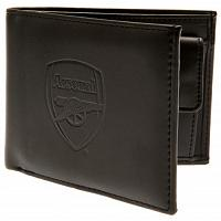 Arsenal FC Leather Wallet - Debossed Crest