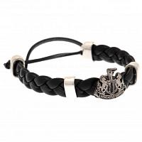 Newcastle United FC PU Slider Bracelet