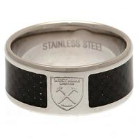 West Ham United FC Carbon Fibre Ring Large