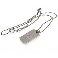 Celtic FC Dog Tag & Chain - Engraved Crest