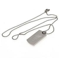 Liverpool FC Engraved Dog Tag & Chain LB