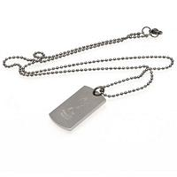 Tottenham Hotspur FC Dog Tag & Chain - Engraved Crest