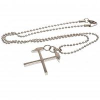 West Ham United FC Stainless Steel Pendant & Chain HM