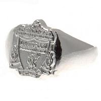 Liverpool FC Ring - Silver Plated - Size X