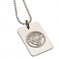 Manchester City FC Dog Tag & Chain - Silver Plated