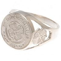 Celtic FC Sterling Silver Ring Small