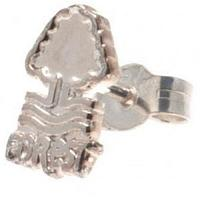 Nottingham Forest FC Sterling Silver Stud Earring
