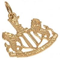 Newcastle United FC 9ct Gold Pendant