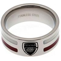 Arsenal FC Ring - Colour Stripe - Size X