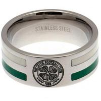 Celtic FC Ring - Colour Double Groove - Size X