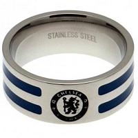 Chelsea FC Ring - Colour Stripe - Size R