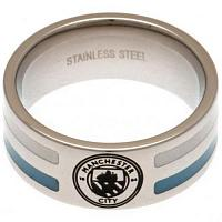 Manchester City FC Ring - Colour Stripe - Size R