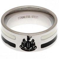 Newcastle United FC Ring - Colour Stripe - Size R