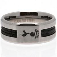 Tottenham Hotspur FC Ring - Black Inlay - Size R