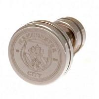 Manchester City FC Stud Earring - Stainless Steel
