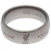 Liverpool FC Ring - Super Titanium - Size R