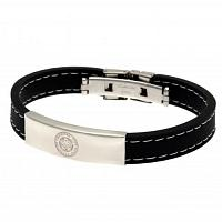Leicester City FC Silicone Bracelet - Stitched