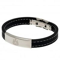 Newcastle United FC Silicone Bracelet - Stitched