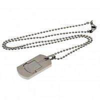West Ham United FC Dog Tag & Chain - Cut Out