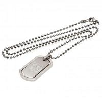 Leeds United FC Framed Dog Tag & Chain