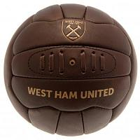West Ham United FC Football Soccer Ball - Retro