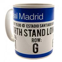Real Madrid Mug - Match Ticket