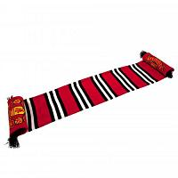 Manchester United FC Stripe Scarf