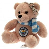 Manchester City FC Bag Buddy Bear