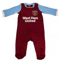 West Ham United FC Sleepsuit 6/9 mths