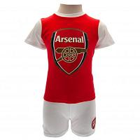 Arsenal FC Baby Shirt & Shorts Set - 3/6 Months