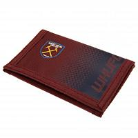 West Ham United FC Velcro Wallet
