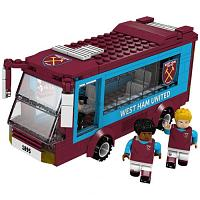 West Ham United FC Brick Team Bus