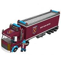 West Ham United FC Brick Fan Truck