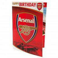Arsenal FC Musical Birthday Card