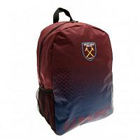 West Ham United FC Backpack, School Bag, Sports Bag