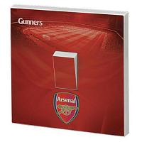 Arsenal FC Light Switch Skin / Sticker