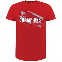 Liverpool FC Champions Of Europe T Shirt Mens M