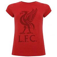 Liverpool FC Liverbird T Shirt Ladies Red 12