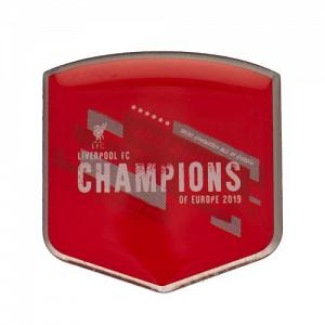 Liverpool FC Champions Of Europe Badge 2