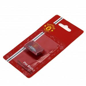 Manchester United FC Pin Badge - Double Champions 2