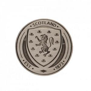 Scotland FA Antique Silver Badge 1