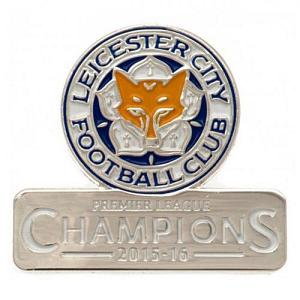 Leicester City Fc Badge Champions Official Football
