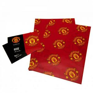 Manchester United FC Wrapping Paper 1