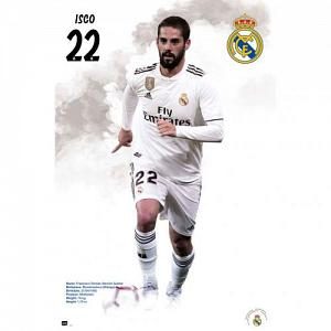 Real Madrid FC Poster Isco 59 1
