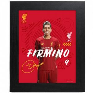 Liverpool FC Picture Firmino 10 x 8 1
